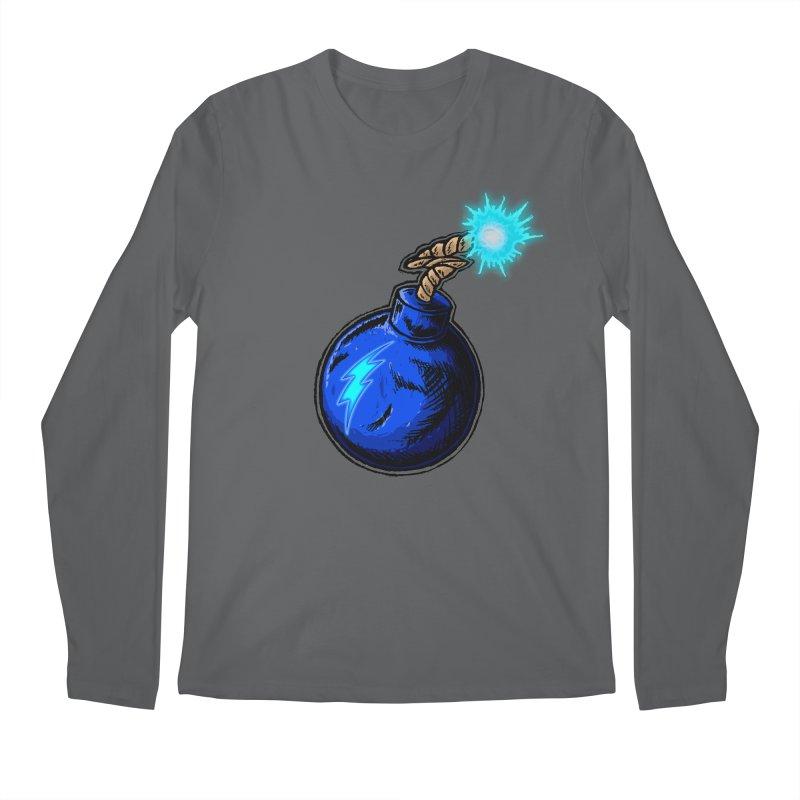 Bomb of Blue Thunder Men's Longsleeve T-Shirt by inbrightestday's Artist Shop
