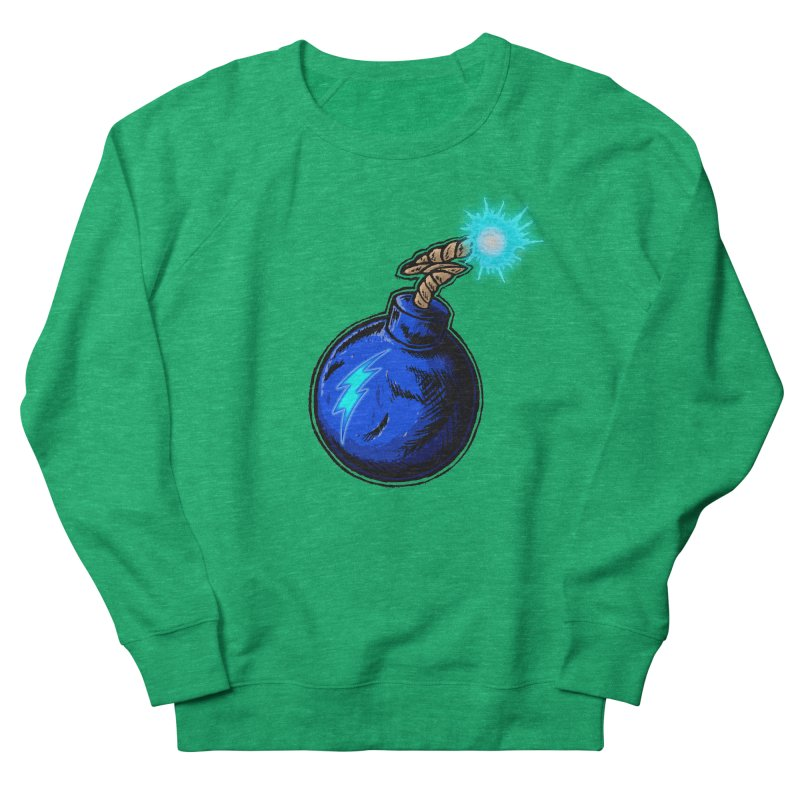 Bomb of Blue Thunder Women's Sweatshirt by inbrightestday's Artist Shop