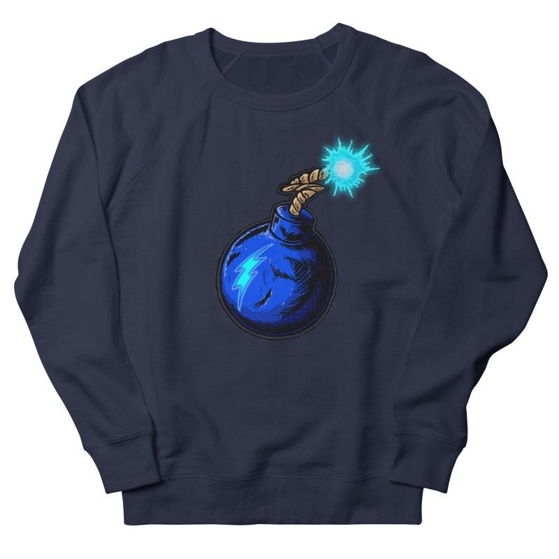 Bomb of Blue Thunder Men's Sweatshirt by inbrightestday's Artist Shop