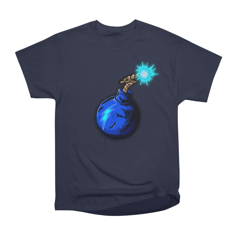 Bomb of Blue Thunder Women's Heavyweight Unisex T-Shirt by inbrightestday's Artist Shop
