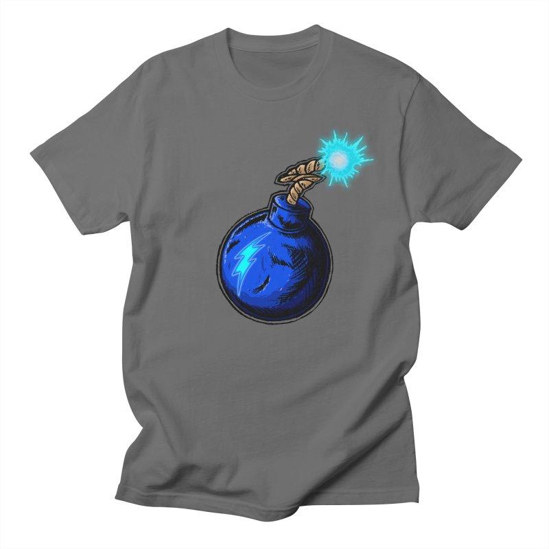 Bomb of Blue Thunder Men's T-Shirt by inbrightestday's Artist Shop
