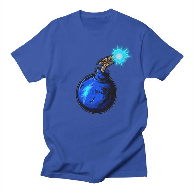 Bomb of Blue Thunder Women's Regular Unisex T-Shirt by inbrightestday's Artist Shop