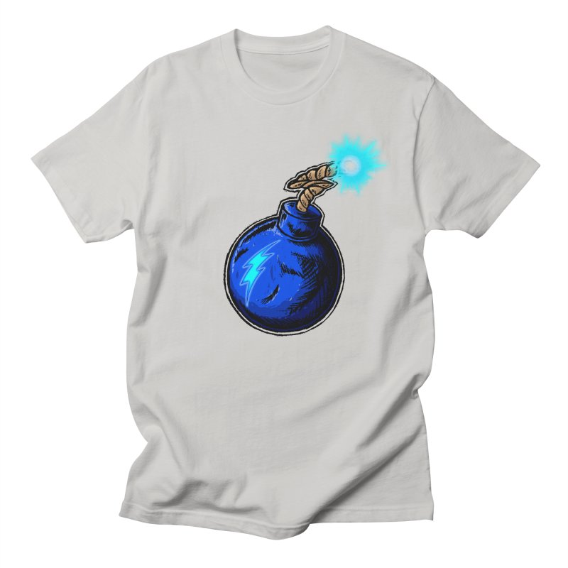 Bomb of Blue Thunder Women's Regular Unisex T-Shirt by inbrightestday's Artist Shop