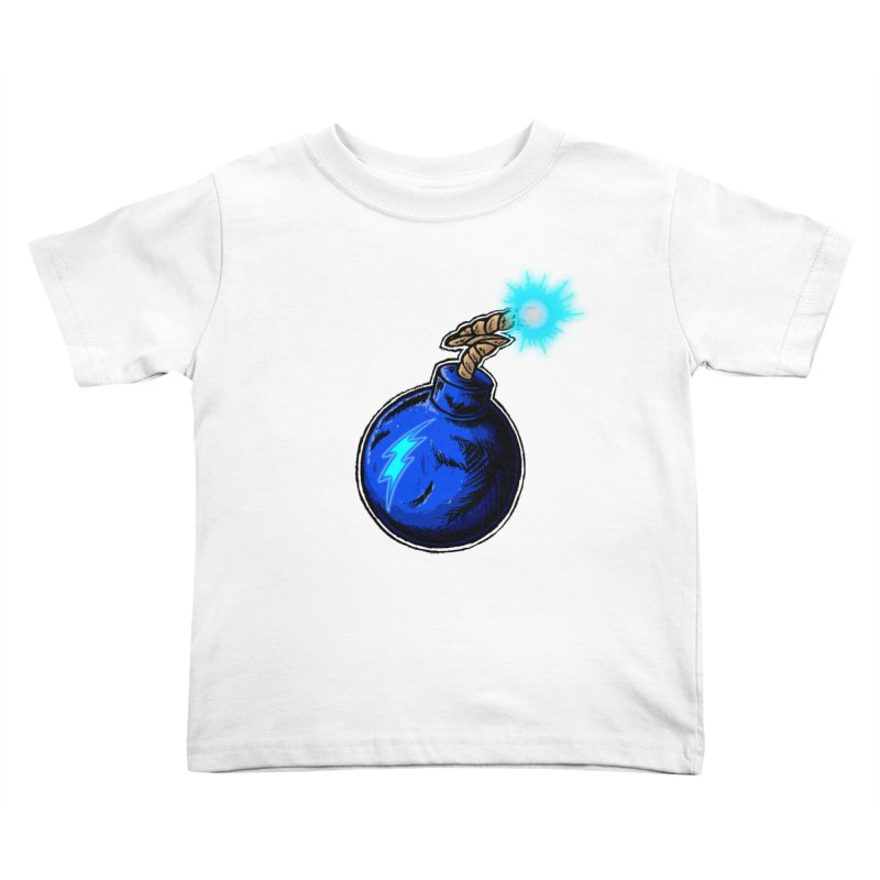 Bomb of Blue Thunder Kids Toddler T-Shirt by inbrightestday's Artist Shop