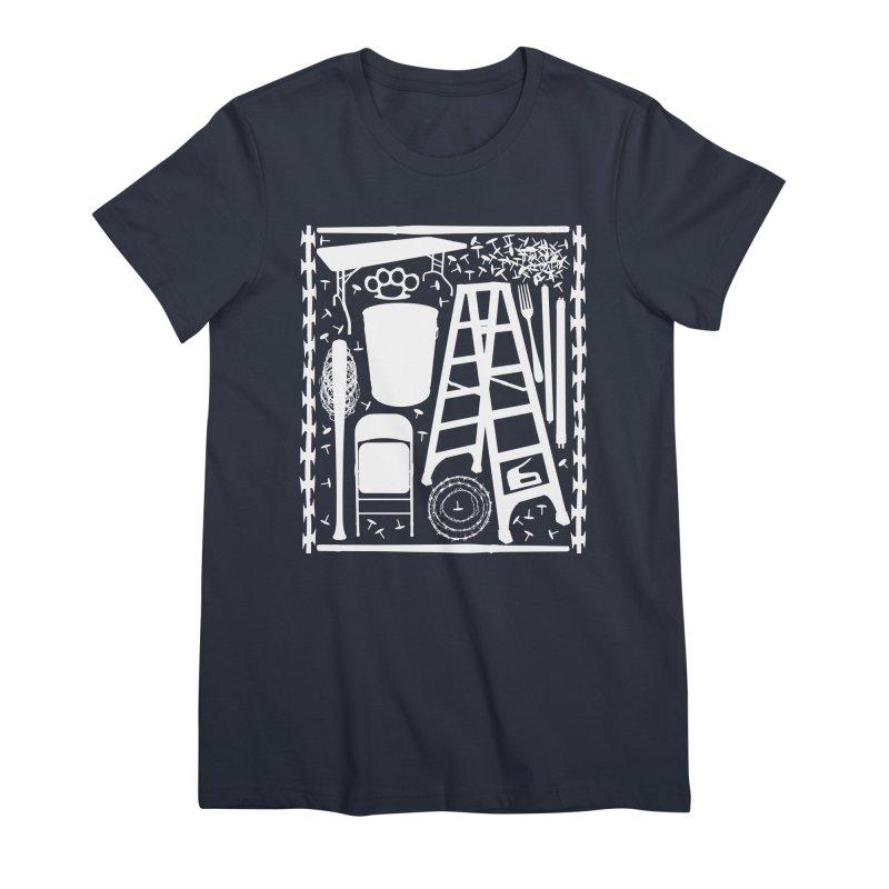 Choose Your Weapon Women's Premium T-Shirt by inbrightestday's Artist Shop