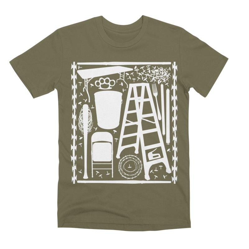 Choose Your Weapon Men's Premium T-Shirt by inbrightestday's Artist Shop