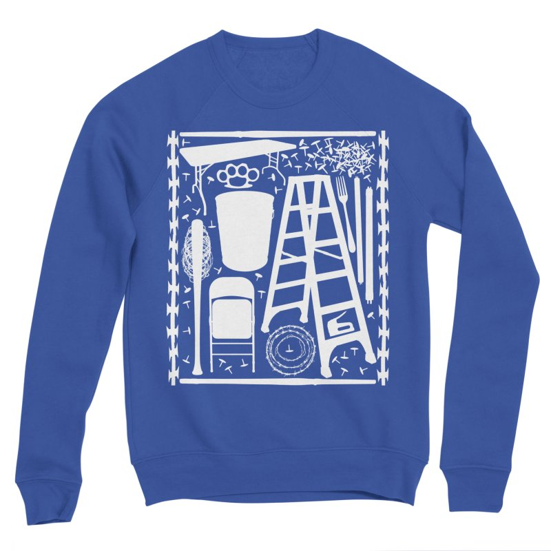 Choose Your Weapon Men's Sponge Fleece Sweatshirt by inbrightestday's Artist Shop