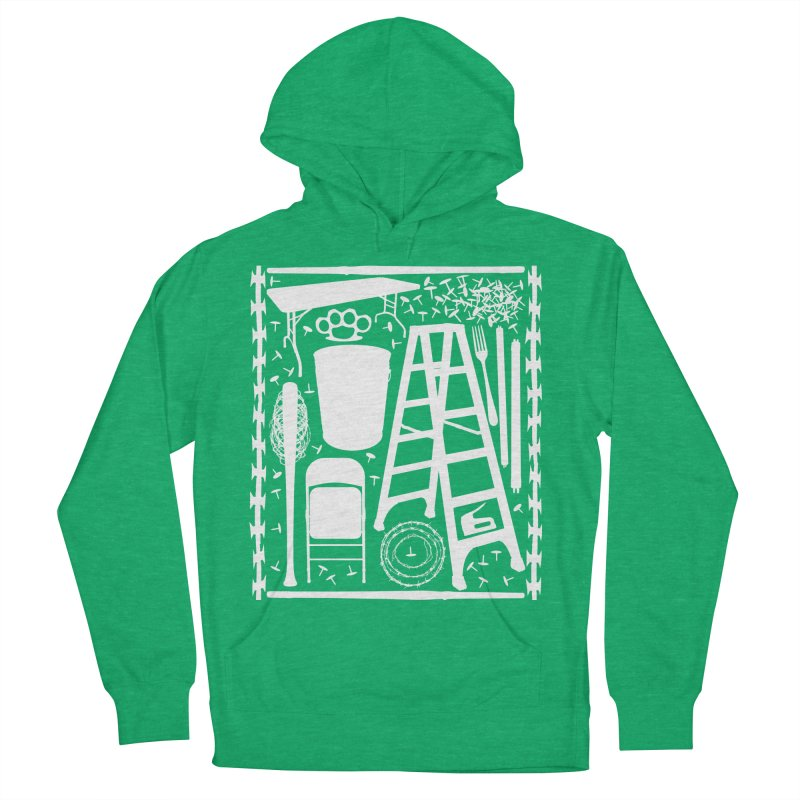 Choose Your Weapon Men's French Terry Pullover Hoody by inbrightestday's Artist Shop