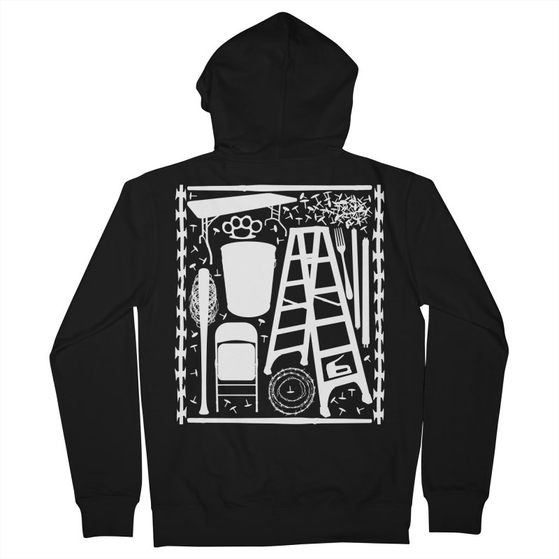 Choose Your Weapon Women's French Terry Zip-Up Hoody by inbrightestday's Artist Shop