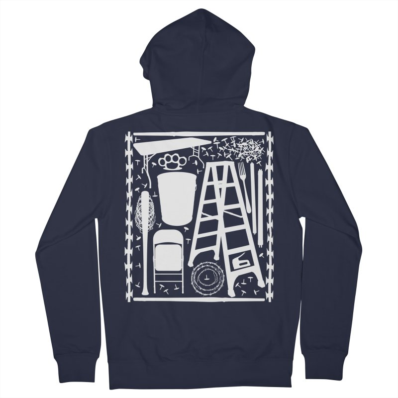Choose Your Weapon Men's French Terry Zip-Up Hoody by inbrightestday's Artist Shop