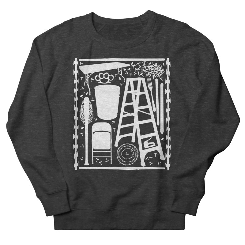 Choose Your Weapon Men's French Terry Sweatshirt by inbrightestday's Artist Shop