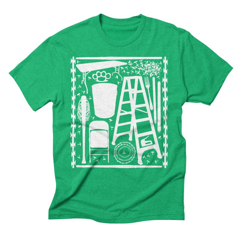 Choose Your Weapon Men's Triblend T-Shirt by inbrightestday's Artist Shop