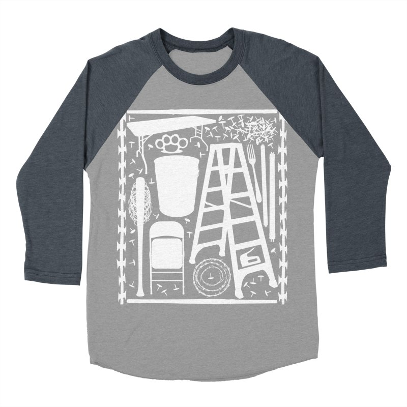 Choose Your Weapon Men's Baseball Triblend Longsleeve T-Shirt by inbrightestday's Artist Shop