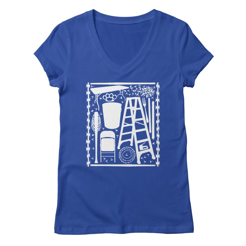 Choose Your Weapon Women's Regular V-Neck by inbrightestday's Artist Shop