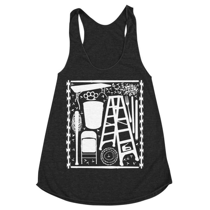 Choose Your Weapon Women's Racerback Triblend Tank by inbrightestday's Artist Shop