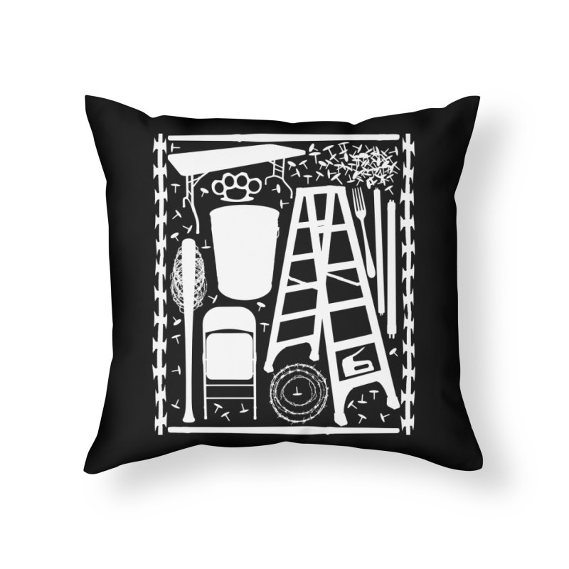 Choose Your Weapon Home Throw Pillow by inbrightestday's Artist Shop