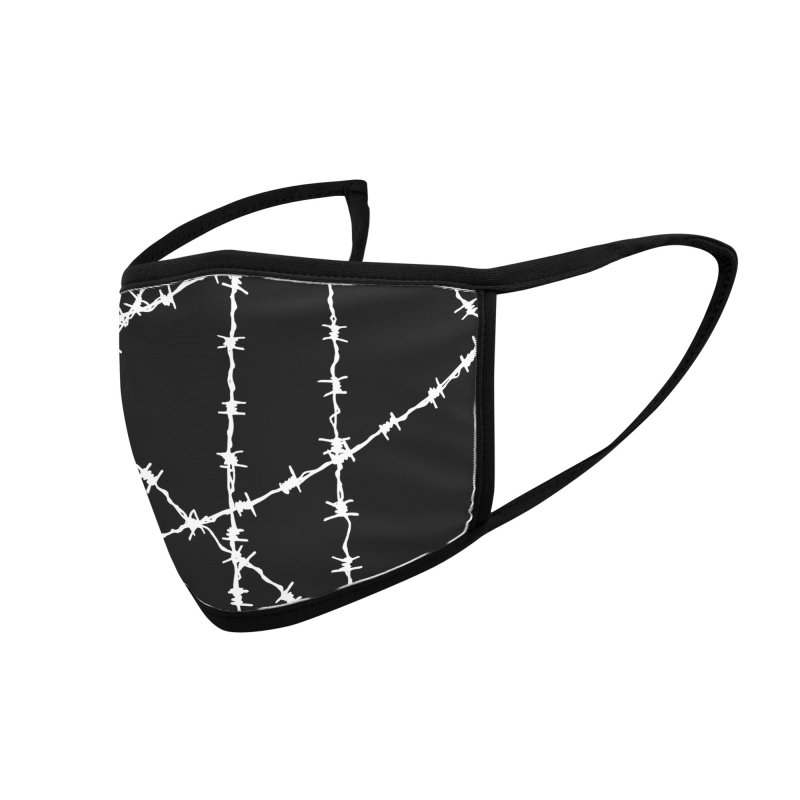 Wired Accessories Face Mask by inbrightestday's Artist Shop
