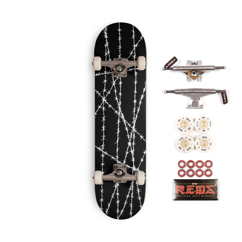 Wired Accessories Complete - Pro Skateboard by inbrightestday's Artist Shop