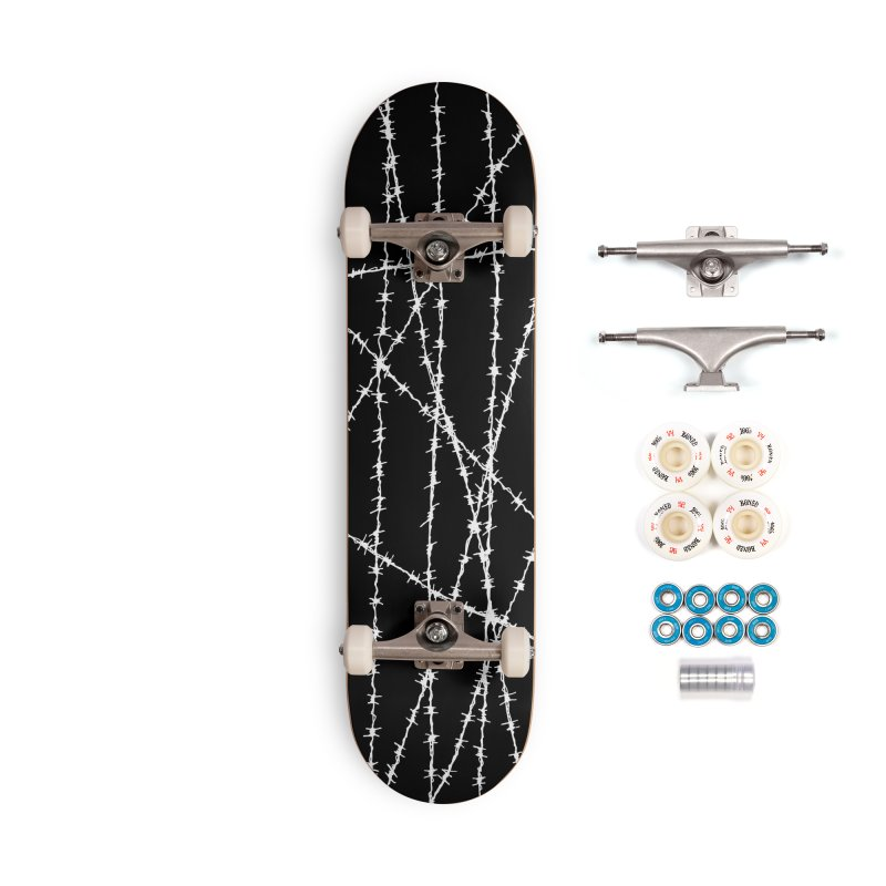 Wired Accessories Complete - Premium Skateboard by inbrightestday's Artist Shop