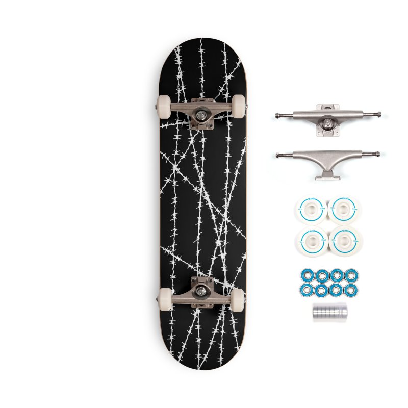 Wired Accessories Skateboard by inbrightestday's Artist Shop