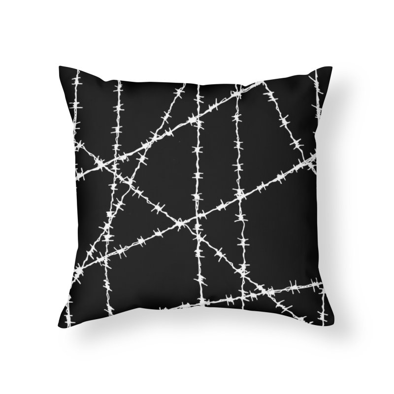 Wired Home Throw Pillow by inbrightestday's Artist Shop