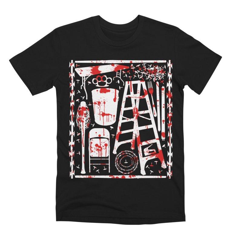Choose your weapon 2 Men's Premium T-Shirt by inbrightestday's Artist Shop