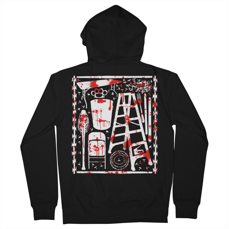 Choose your weapon 2 Men's French Terry Zip-Up Hoody by inbrightestday's Artist Shop