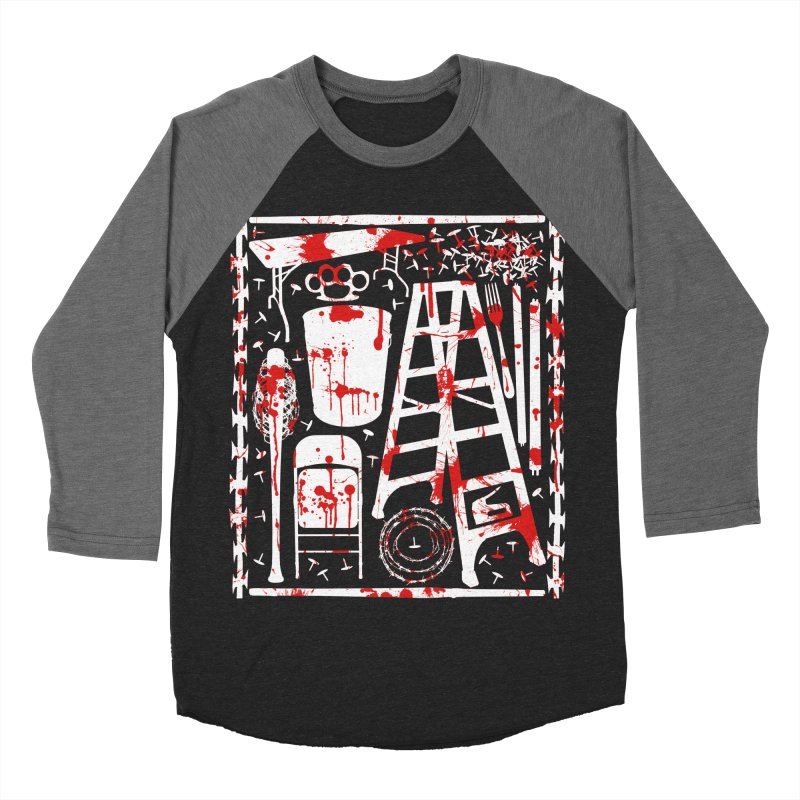 Choose your weapon 2 Men's Baseball Triblend Longsleeve T-Shirt by inbrightestday's Artist Shop
