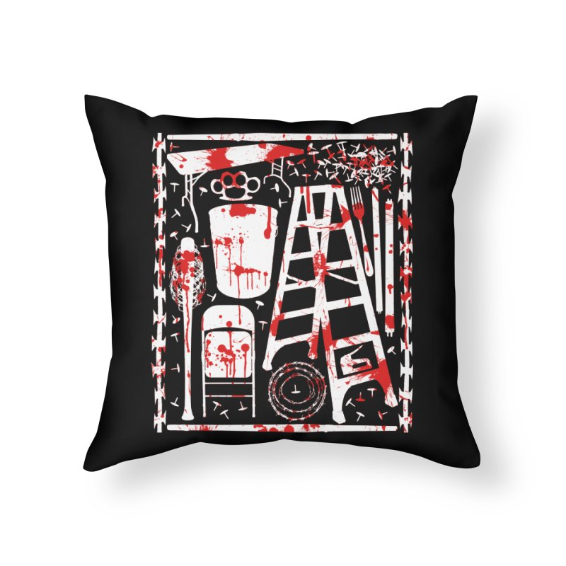 Choose your weapon 2 Home Throw Pillow by inbrightestday's Artist Shop