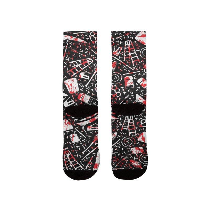 Choose your weapon 2 Men's Socks by inbrightestday's Artist Shop