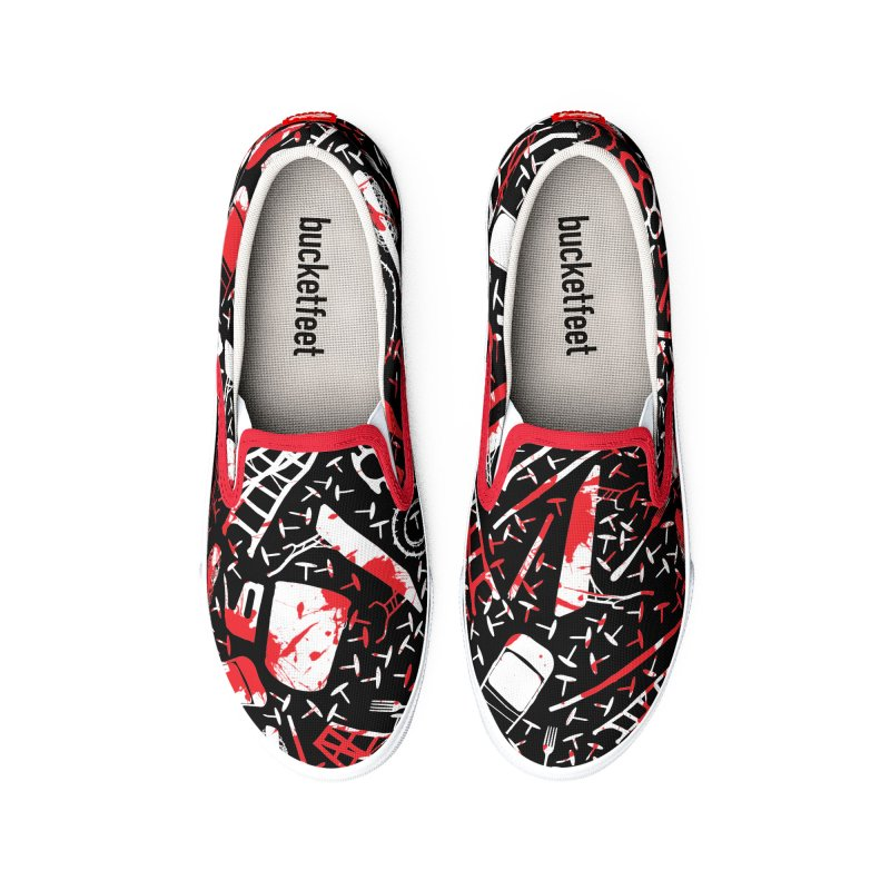 Choose your weapon 2 Men's Shoes by inbrightestday's Artist Shop