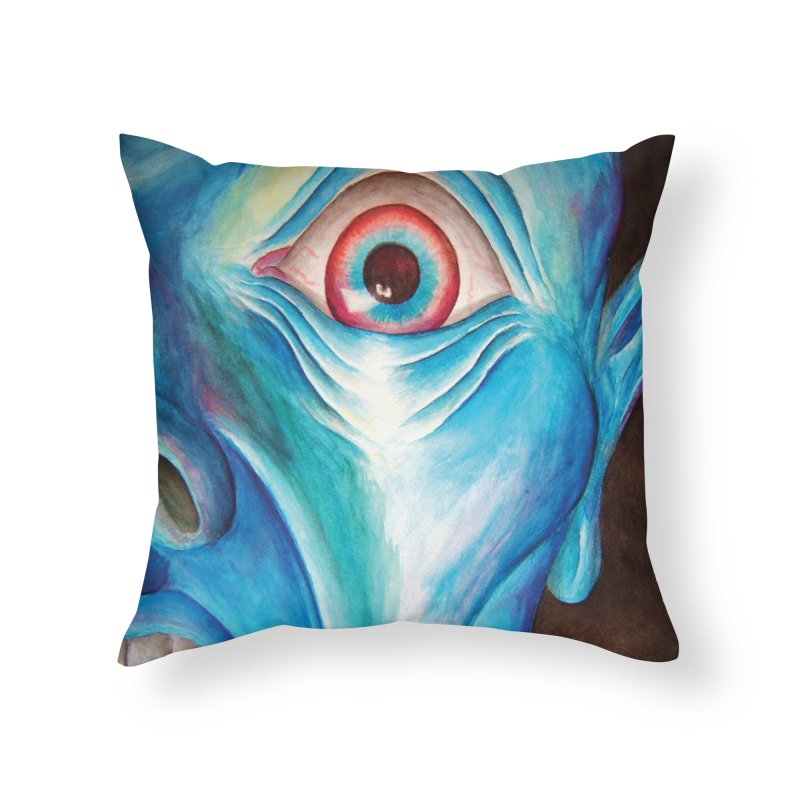 Shock and Awe Home Throw Pillow by inbrightestday's Artist Shop