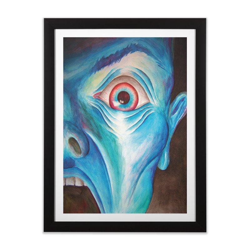 Shock and Awe Home Framed Fine Art Print by inbrightestday's Artist Shop