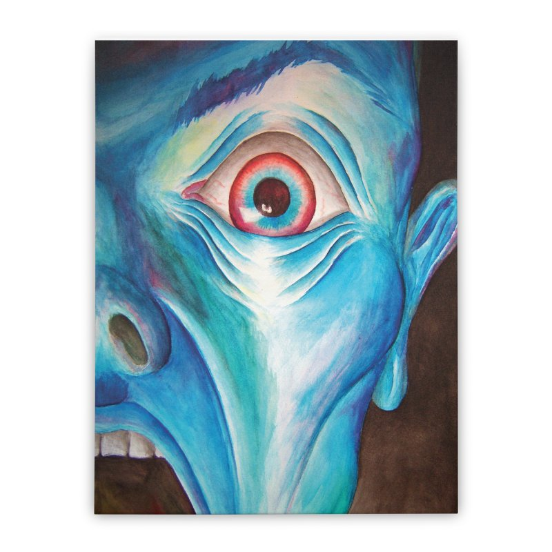 Shock and Awe Home Stretched Canvas by inbrightestday's Artist Shop