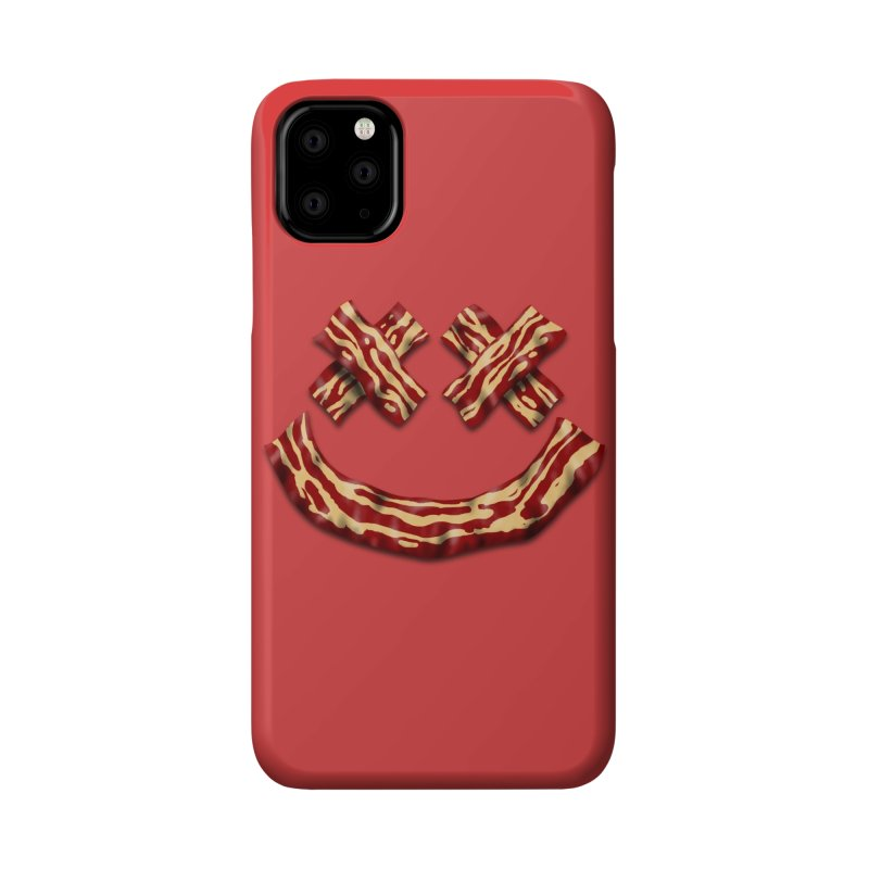 Death by Bacon Accessories Phone Case by inbrightestday's Artist Shop