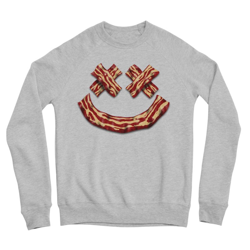 Death by Bacon Women's Sponge Fleece Sweatshirt by inbrightestday's Artist Shop