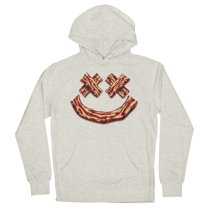 Death by Bacon Women's French Terry Pullover Hoody by inbrightestday's Artist Shop
