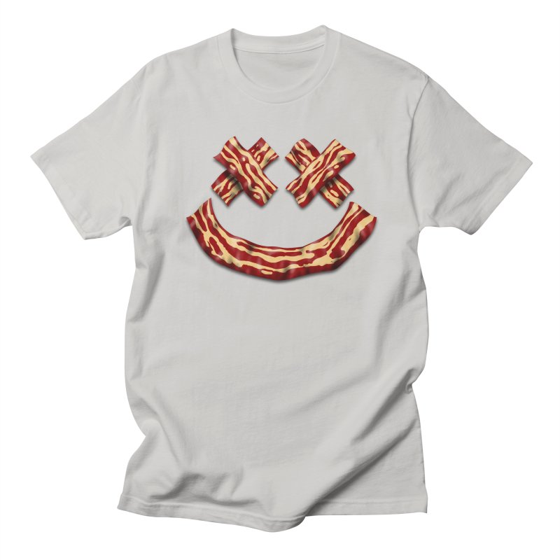 Death by Bacon Men's T-Shirt by inbrightestday's Artist Shop