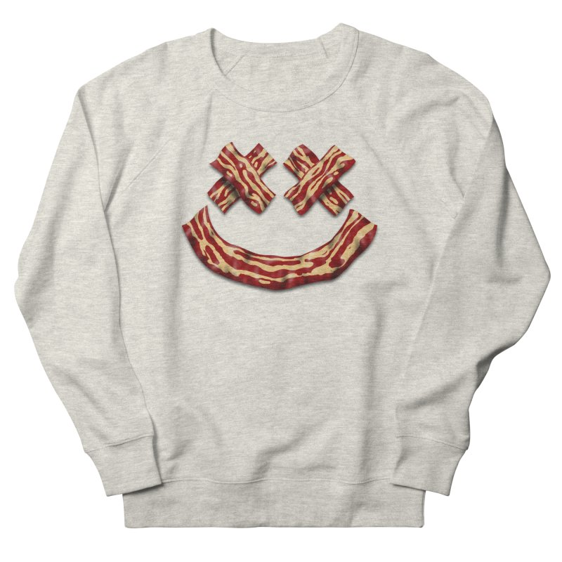 Death by Bacon Women's French Terry Sweatshirt by inbrightestday's Artist Shop
