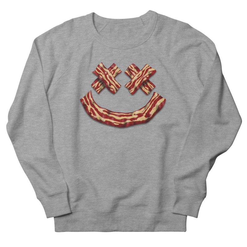 Death by Bacon Men's French Terry Sweatshirt by inbrightestday's Artist Shop
