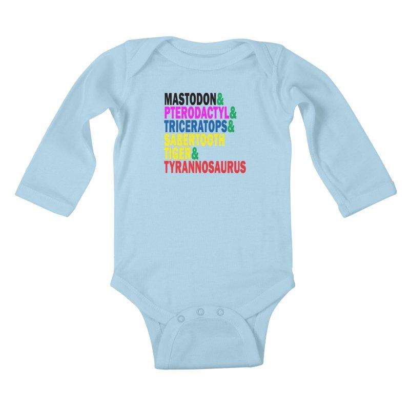 The First Five Kids Baby Longsleeve Bodysuit by inbrightestday's Artist Shop