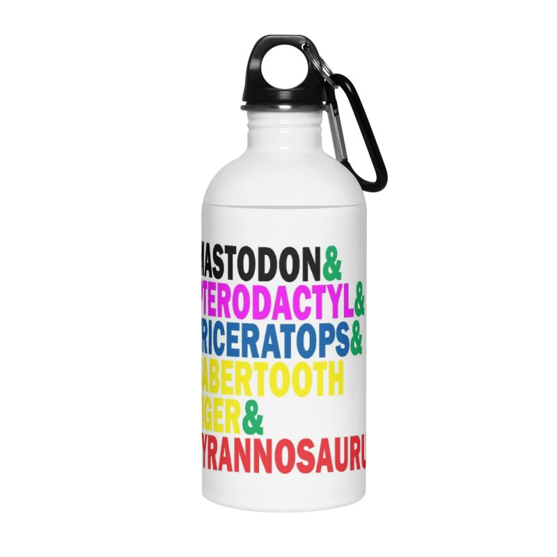 The First Five Accessories Water Bottle by inbrightestday's Artist Shop