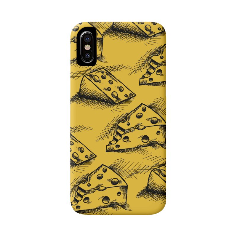 Cheese Doodles Accessories Phone Case by inbrightestday's Artist Shop