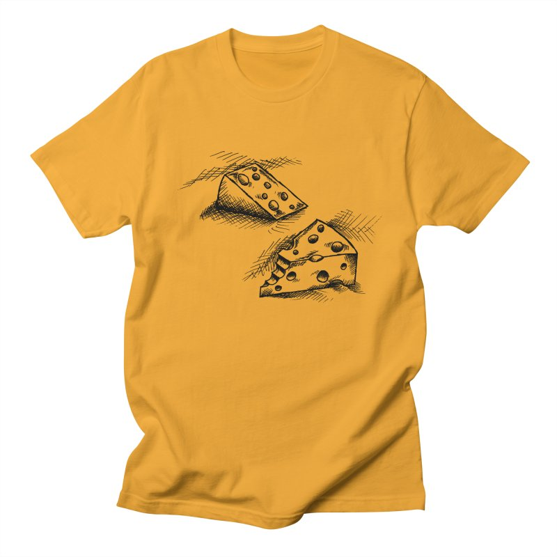 Cheese Doodles Men's T-shirt by inbrightestday's Artist Shop