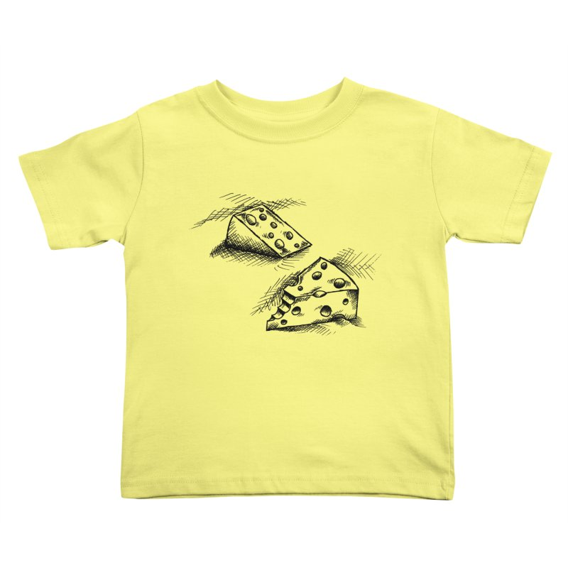 Cheese Doodles Kids Toddler T-Shirt by inbrightestday's Artist Shop