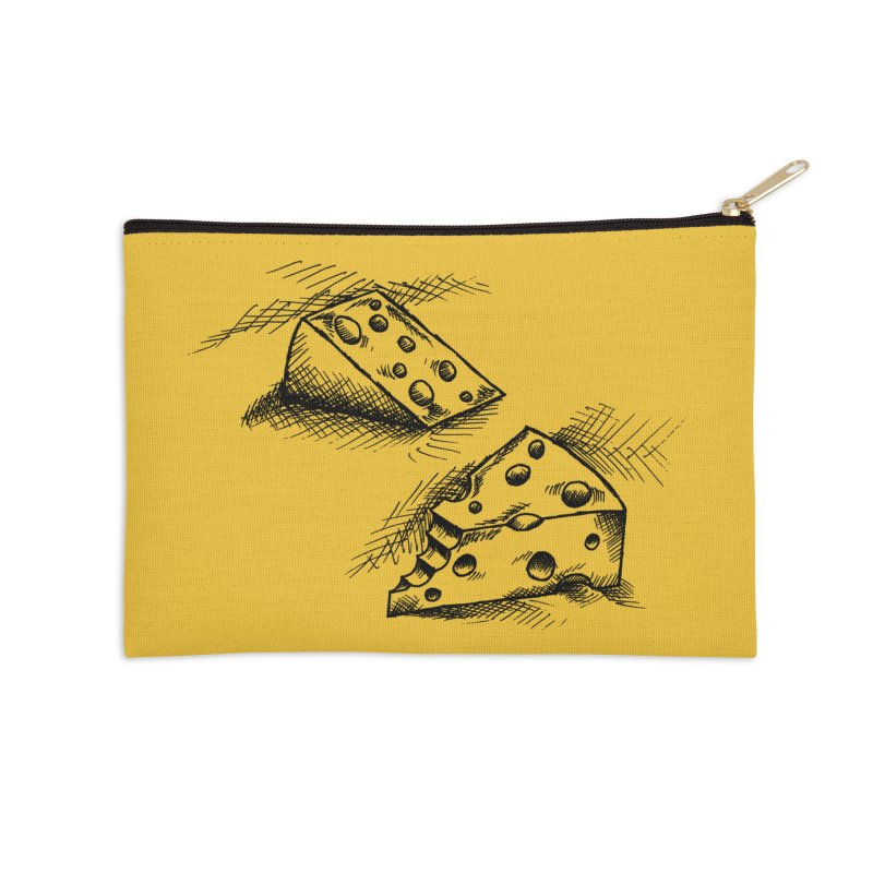 Cheese Doodles Accessories Zip Pouch by inbrightestday's Artist Shop