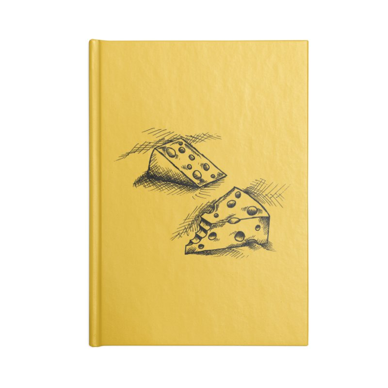 Cheese Doodles Accessories Notebook by inbrightestday's Artist Shop