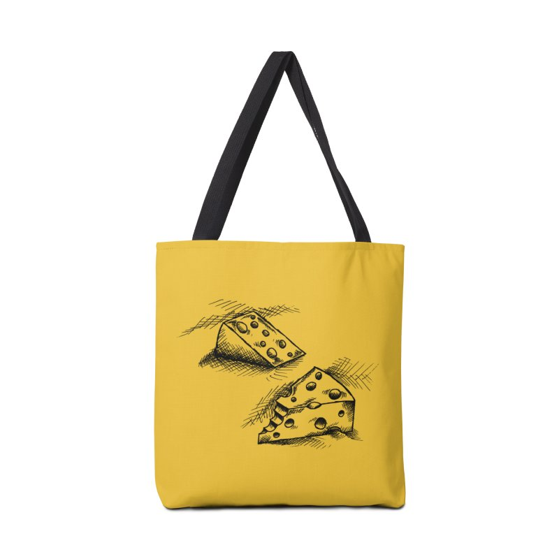 Cheese Doodles Accessories Bag by inbrightestday's Artist Shop