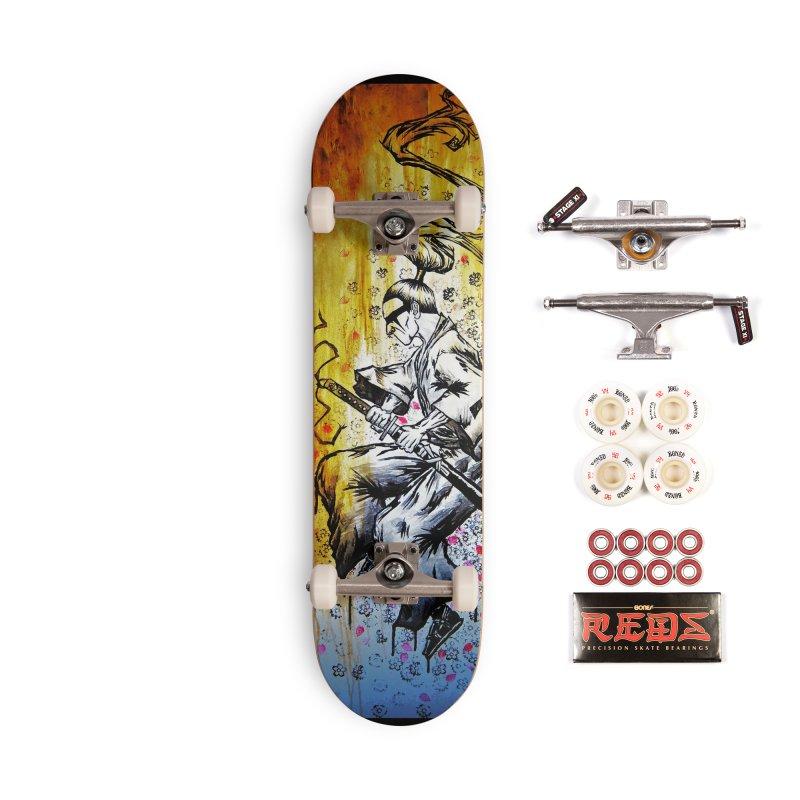 Blade of Sakura Accessories Complete - Pro Skateboard by inbrightestday's Artist Shop