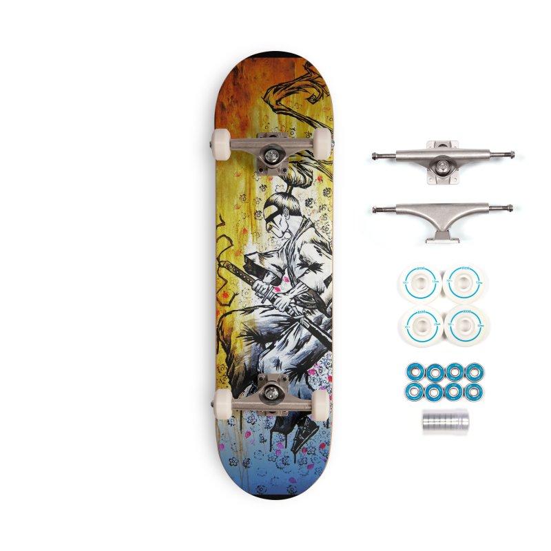 Blade of Sakura Accessories Complete - Basic Skateboard by inbrightestday's Artist Shop